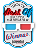 2013 Winner Best Of Santa Barbara Independent